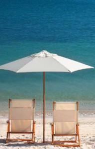 Beach Chairs Umbrella