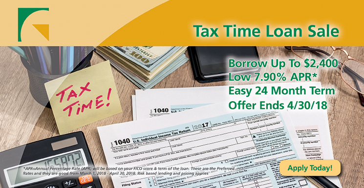 tax time loan save